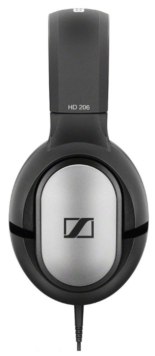 Sennheiser HD 206 - тип излучателей: динамические