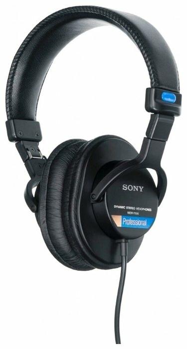 Sony MDR-7506 - конструкция: полноразмерные (закрытые)