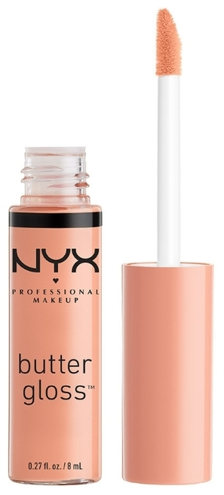 NYX professional makeup Butter Gloss - финиш: влажный