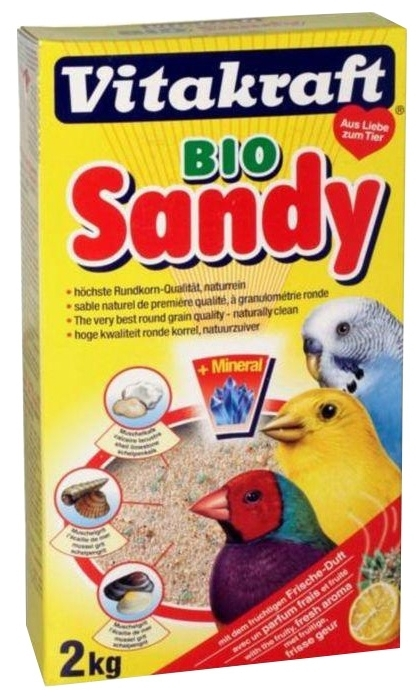 Vitakraft Bio Sand 2 кг - вид животного: птицы