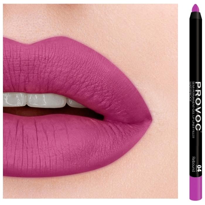 Provoc Semi-Permanent Gel Lip Liner - водостойкий