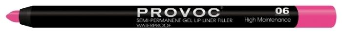 Provoc Semi-Permanent Gel Lip Liner - вес: 1.2г