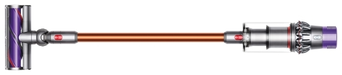 Dyson Cyclone V10 Absolute - объем пылесборника 0.76л