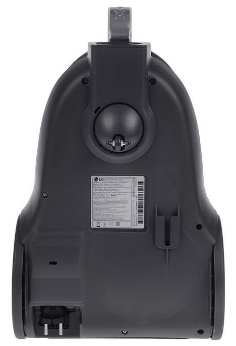 LG VK76W02HY - особенности: индикатор заполнения пылесборника, управление мощностью на рукоятке