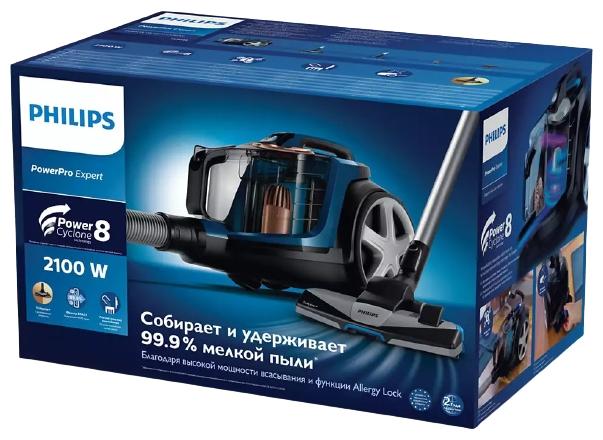 Philips FC9733 PowerPro Expert - особенности: регулятор мощности на корпусе