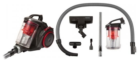 REDMOND RV-C335 - мощность всасывания: 380Вт