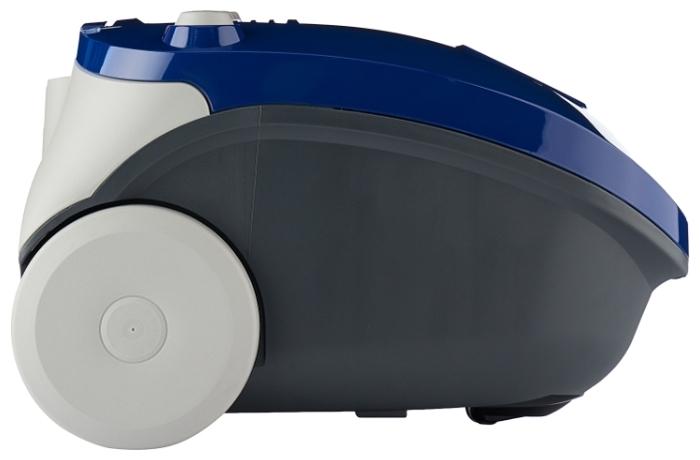 Samsung SC4140 - особенности: индикатор заполнения пылесборника, регулятор мощности на корпусе