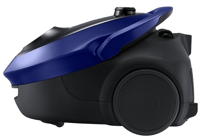 Samsung VC20M251AWB - особенности: индикатор заполнения пылесборника, регулятор мощности на корпусе
