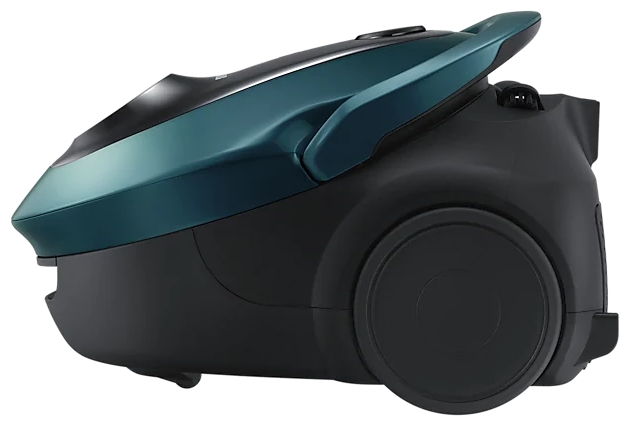 Samsung VC20M25 - особенности: индикатор заполнения пылесборника, регулятор мощности на корпусе