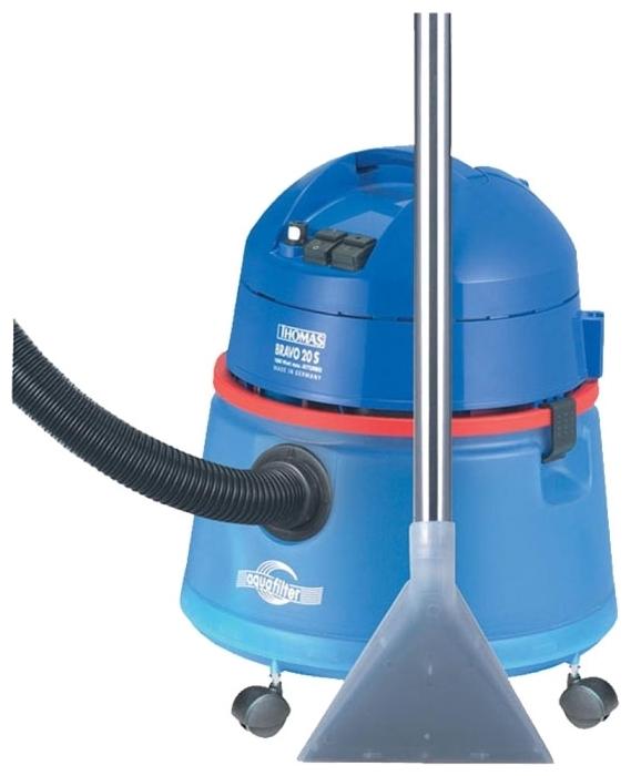 Thomas BRAVO 20S Aquafilter - тип уборки: сухая и влажная