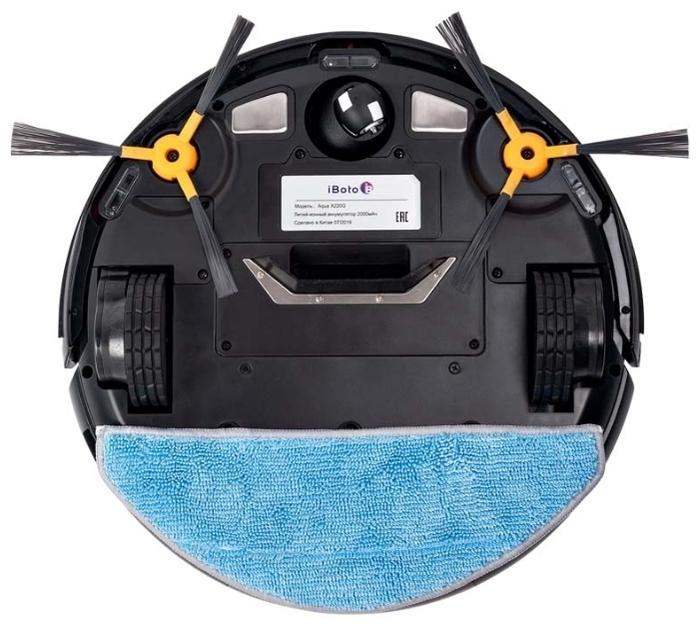 iBoto Aqua Х220G - движение по спирали, движение зигзагом, движение вдоль стены