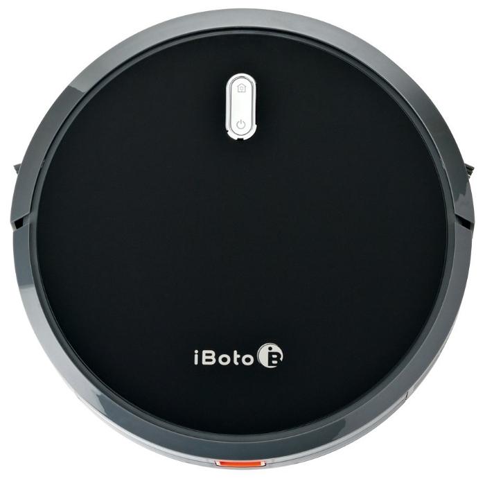 iBoto Aqua V715B - электрощетка, боковая щетка, фильтр тонкой очистки в комплекте