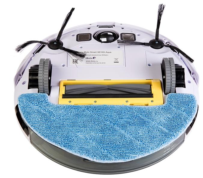 iBoto Smart X610G Aqua - контейнер для пыли 0.45л и для воды 0.35л