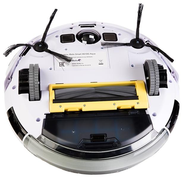 iBoto Smart X610G Aqua - работа от аккумулятора: до 120мин