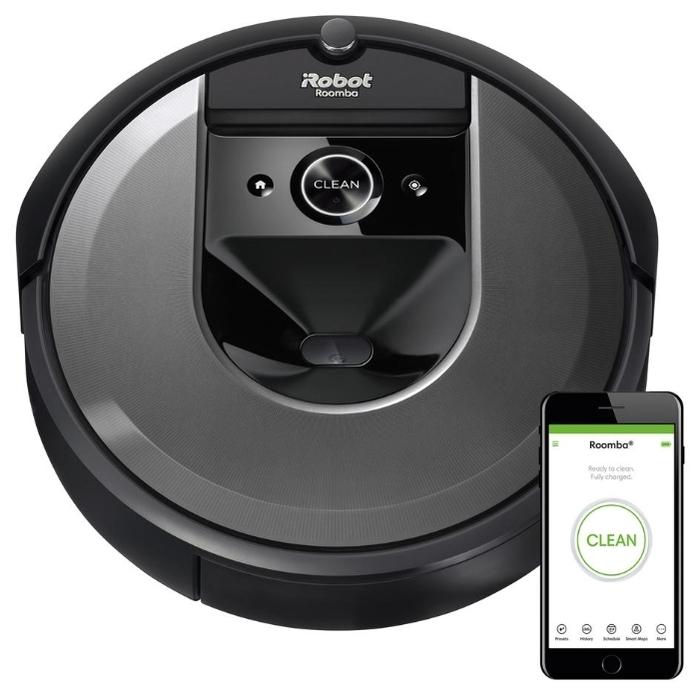 iRobot Roomba i7 - сухая уборка