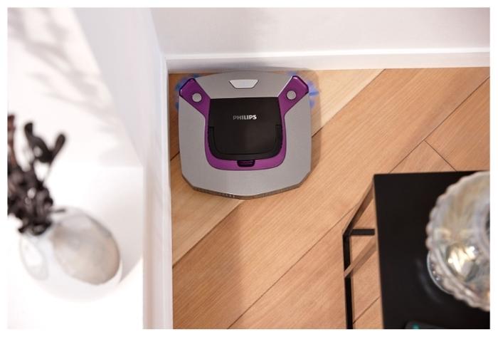 Philips FC8796 SmartPro Easy - движение вдоль стены