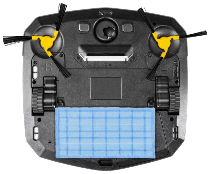 REDMOND RV-R250 - боковая щетка, фильтр тонкой очистки в комплекте