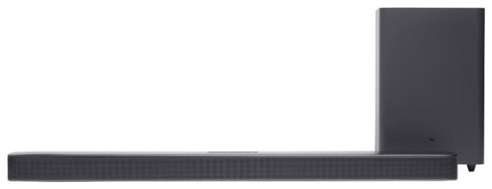 JBL Bar 2.1 Deep Bass - вид АС: звуковая панель