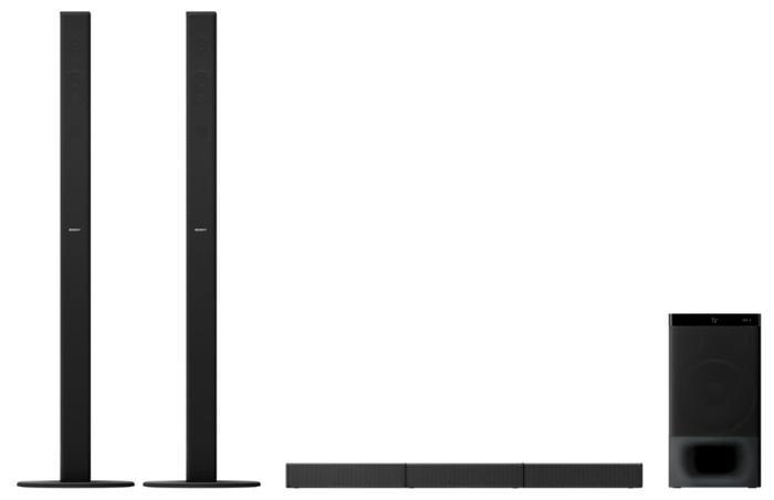 Sony HT-S700RF - конфигурация АС: 5.1