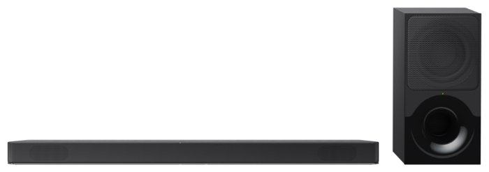 Sony HT-XF9000 - конфигурация АС: 2.1