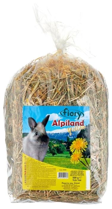 Fiory Альпийское Alpiland Yellow с одуванчиком 0.5 кг - тип: сено