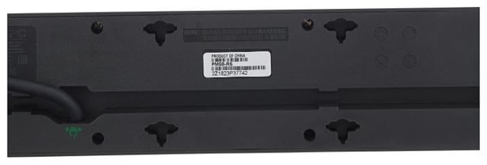 APC by Schneider Electric PM5B-RS, 5 розеток, 1.8 м, с/з, 10А - световая индикация