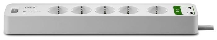 APC by Schneider Electric PM5U-RS, 5 розеток, 1.8 м, с/з 2300 Вт - провод