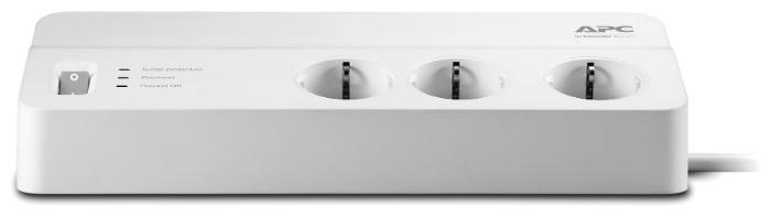 APC by Schneider Electric PM6-RS, 6 розеток, 2 м, с/з, 10А - провод