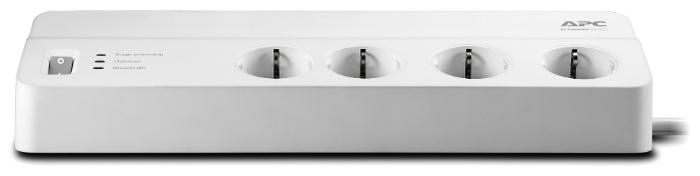 APC by Schneider Electric PM8-RS, 8 розеток, 2 м, с/з, 10А / 2300 Вт - провод