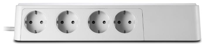 APC by Schneider Electric PM8-RS, 8 розеток, 2 м, с/з, 10А / 2300 Вт - размеры (ШxВxД) 110x62x327