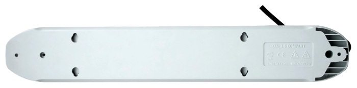 Pilot GL, белый, 6 розеток, 5 м, с/з, 10А / 2200 Вт - провод