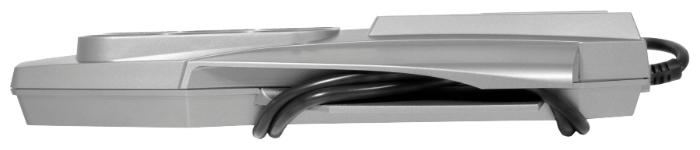 Pilot XPro, серый, 6 розеток, 1.8 м, с/з, 10А - провод