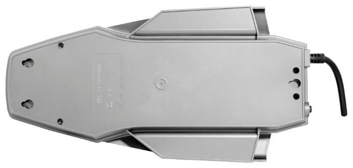 Pilot XPro, серый, 6 розеток, 1.8 м, с/з, 10А - размеры (ШxВxД) 165x48x310