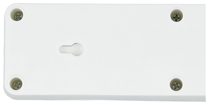 UNIVersal 967U-3005, 6 розеток, 5 м, с/з, 10А / 2200 Вт - выключатель на корпусе