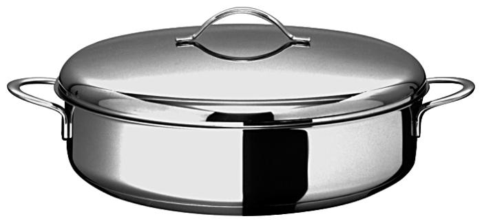 ВСМПО-Посуда Гурман-Классик 110224 24 см с крышкой - материал: сталь