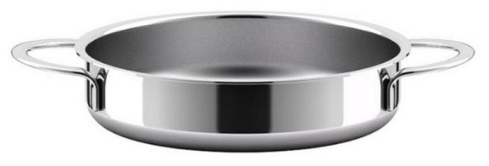 ВСМПО-Посуда Гурман-Стекло 220224 24 см с крышкой - подходит для индукционных плит: да