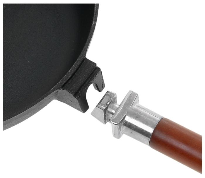 Биол 04221 22 см, съемная ручка - особенности: съемная ручка, использование в духовке