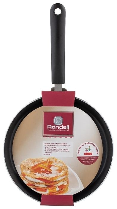 Rondell Pancake frypan RDA-020 22 см - диаметр дна: 16.4см