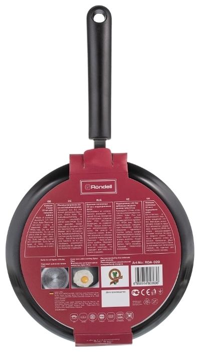 Rondell Pancake frypan RDA-020 22 см - толщина дна: 2.5мм