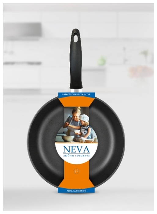 NEVA Black N128 28 см - диаметр дна: 22см