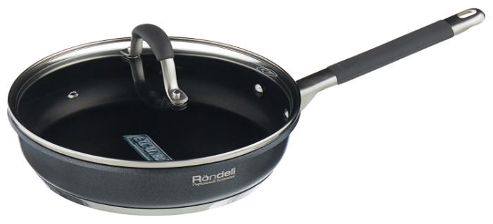 Rondell Stern RDS-092 24 см с крышкой - подходит для индукционных плит: да