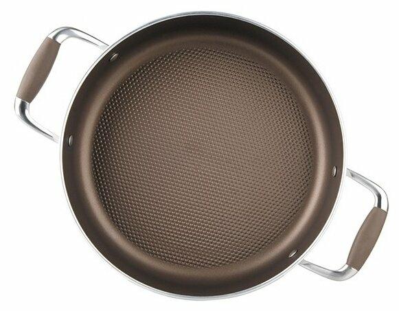 Rondell Latte RDA-286 26 см с крышкой - подходит для индукционных плит: да