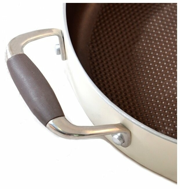 Rondell Latte RDA-286 26 см с крышкой - диаметр дна: 22.5см
