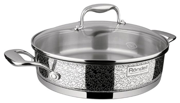 Rondell Vintage RDS-353 26 см с крышкой - подходит для индукционных плит: да