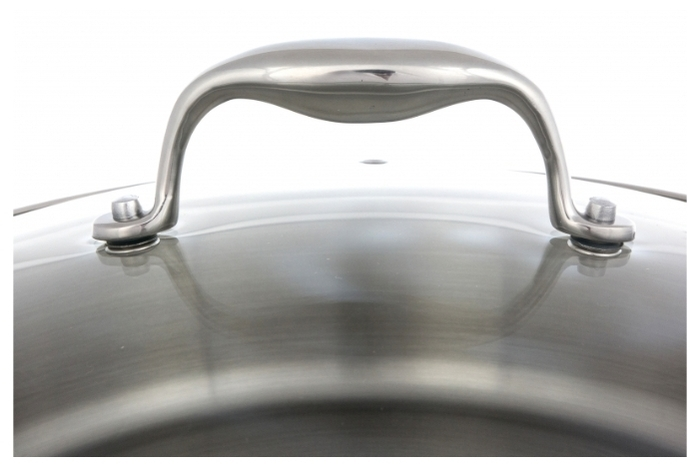 Rondell Vintage RDS-353 26 см с крышкой - комплектация: крышка