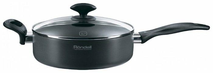 Rondell Weller RDA-065 24 см с крышкой - материал: алюминий