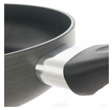 Rondell Weller RDA-065 24 см с крышкой - особенности: ненагревающаяся ручка, крышка в комплекте