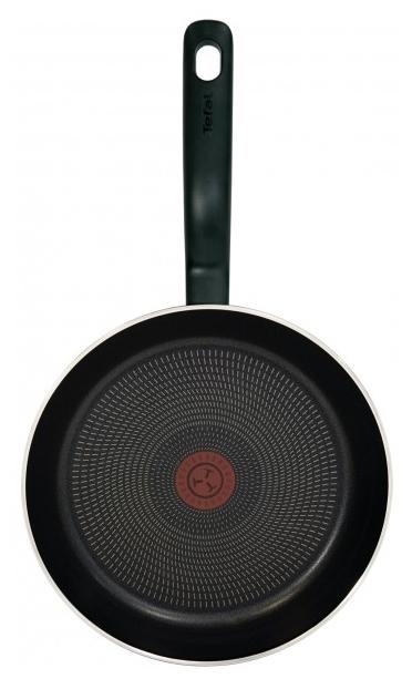 Tefal Cook Right 04166224 24 см с крышкой - особенности: мытье в посудомоечной машине, ненагревающаяся ручка, крышка в комплекте