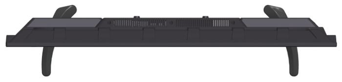 """Asano 28LH1010T 27.5"""" (2019) - проводные интерфейсы: HDMI 1.4x 3, USB x 2, выход аудио коаксиальный, выход на наушники"""