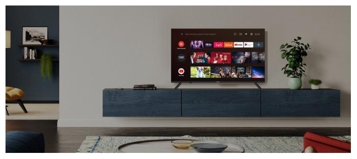 Haier LE32K6600SG 32 (2020) - платформа Smart TV: Android TV